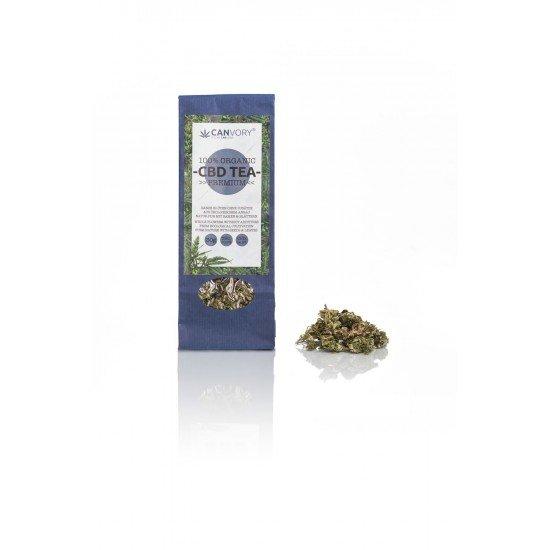 CBD Cannabidiol organic hemp flower tea premium 2% CBD